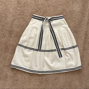 Carolina Herrera Skirts - Carolina Herrera navy white skirt